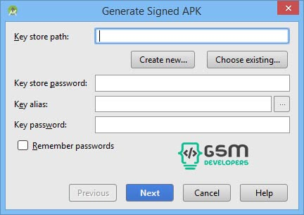generate-signed-apk-android-studio