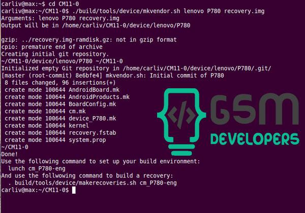 آموزش ساخت ریکاوری CWMاز منبع(بخش اول) - جی اس ام دولوپرز | Gsm