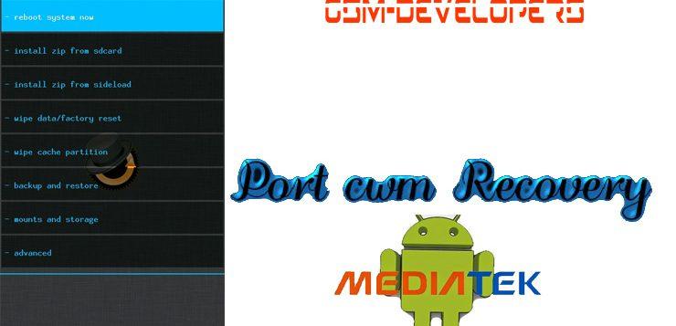 پورت ریکاوری CWM برای مدیاتک