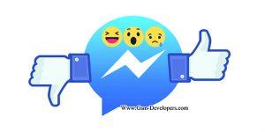 احتمال اضافه شدن دکمه dislike در facebook messenger