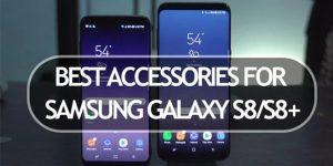 ۵ لوازم جانبی رسمی سامسونگ برای Galaxy S8 و Galaxy S8 Plus