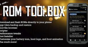 دانلود ROM Toolbox Pro v6.0.6.9 اپلیکیشن جعبه ابزار رام