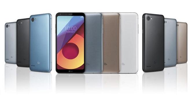 گوشی LG Q6 رسما رونمایی شد