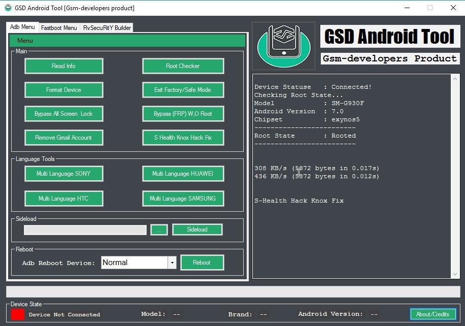 dev-tool]gsd android tool [rvsecurity maker… | android development ...