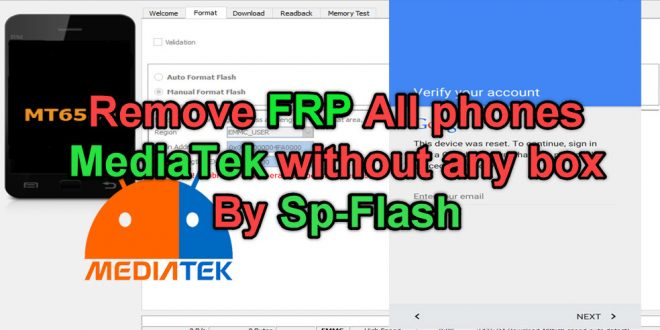 Remove-FRP-All-phones-MediaTek-without-a