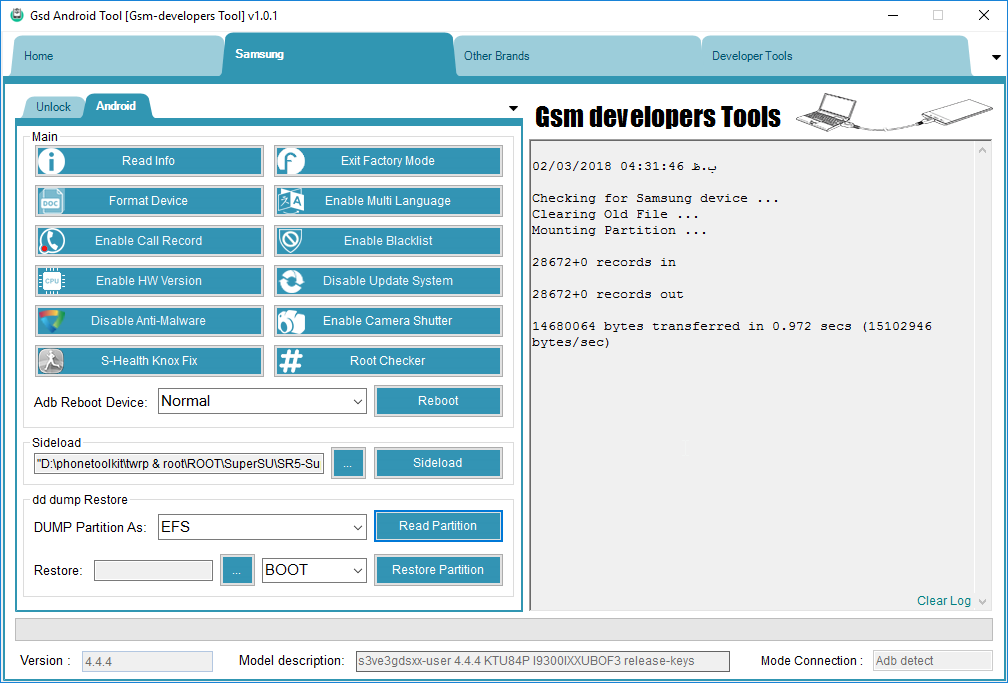 UTIL]Gsd Android Tool v1 0 1 Developer Assi… | Android